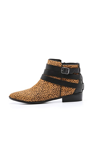 Yosi Samra Haircalf Pointed Booties
