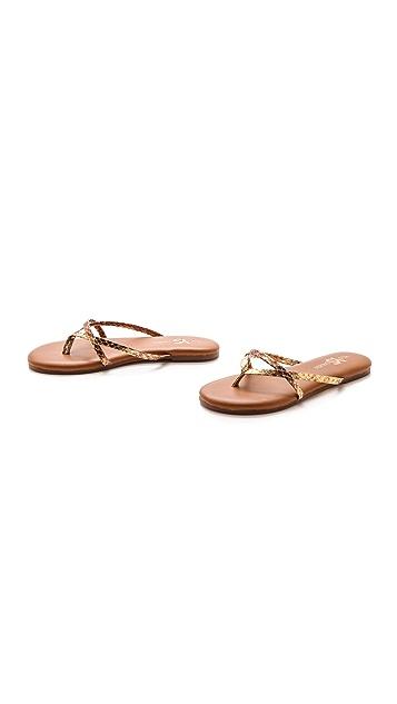 Yosi Samra River Metallic Sandals