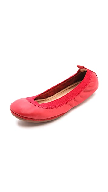 Yosi Samra Samara Leather Flats