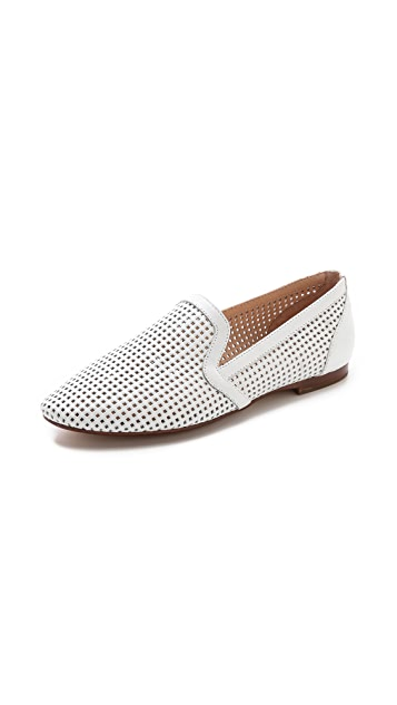 Yosi Samra Preslie Perforated Loafers