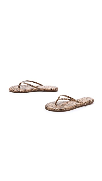 Yosi Samra Roee Snake Flip Flops