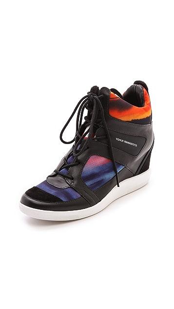 Y-3 Sukita Wedge Sneakers