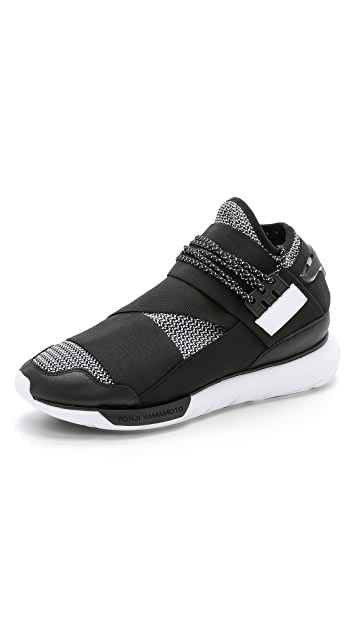 1198229e7a166 Y-3 Y-3 Qasa High Sneakers