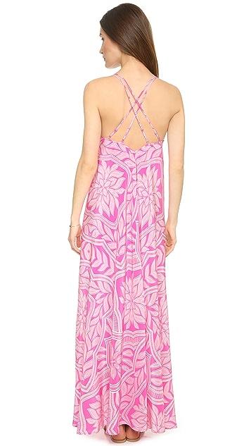 Yumi Kim Summer Night Silk Maxi Dress