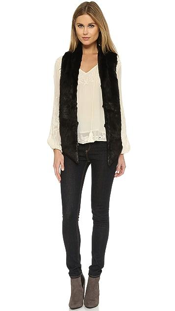 Yumi Kim Cuddle Me Faux Fur Vest