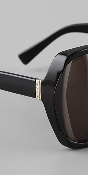 Saint Laurent Butterfly Sunglasses