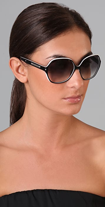 Saint Laurent Oversized Sunglasses