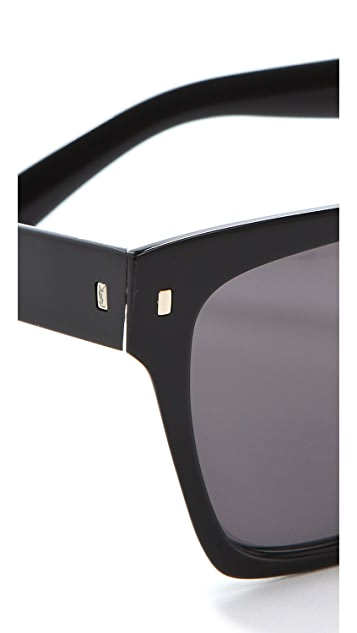 Saint Laurent Oversized Square Sunglasses