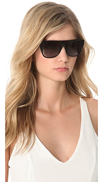 Saint Laurent Flat Top Sunglasses