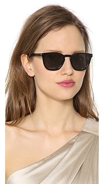 Saint Laurent Two Tone Sunglasses