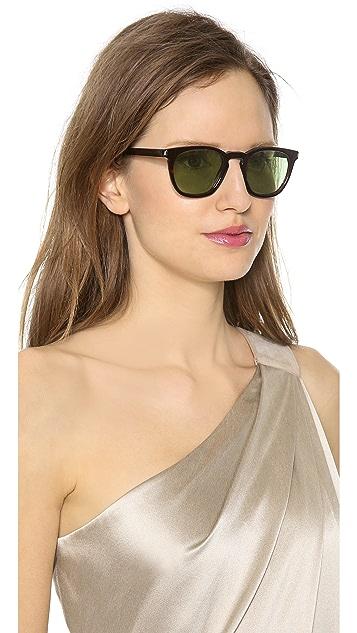 Saint Laurent Two Tone Sunglasses