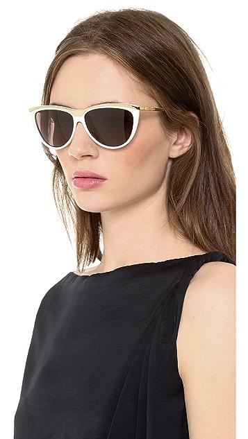 Saint Laurent Cat Eye Sunglasses