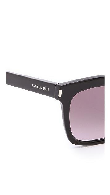 Saint Laurent Square Sunglasses