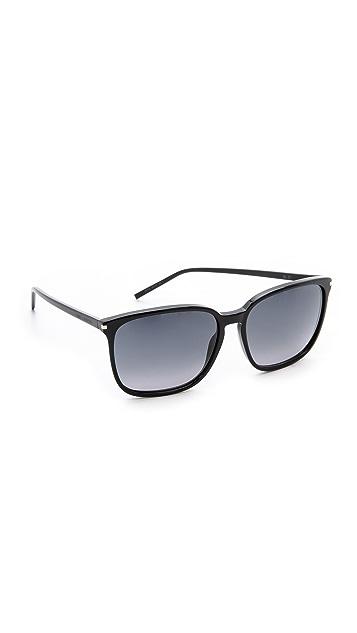 Saint Laurent Slim Square Sunglasses