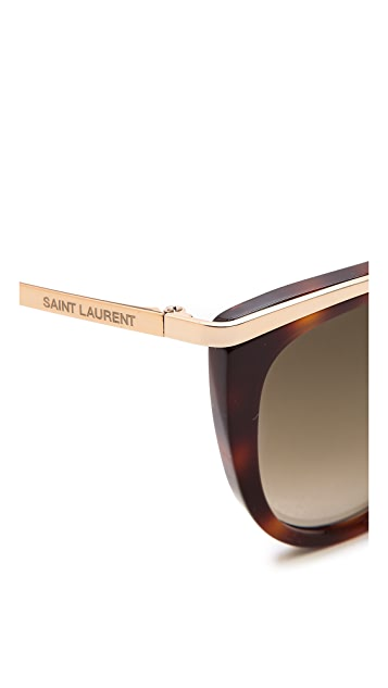 Saint Laurent Special Fit Cat Eye Sunglasses