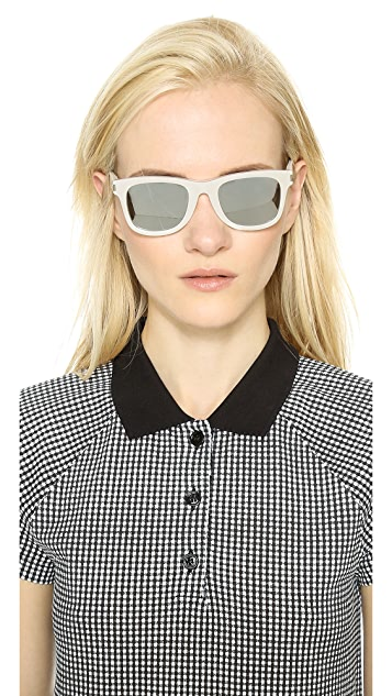 Saint Laurent Mirrored Sunglasses