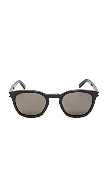 Saint Laurent SL 28 Mineral Glass Sunglasses