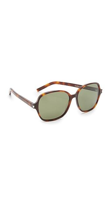 Saint Laurent Classic 8 Mineral Glass Sunglasses