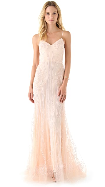 Zac Posen Sweetheart Mermaid Dress