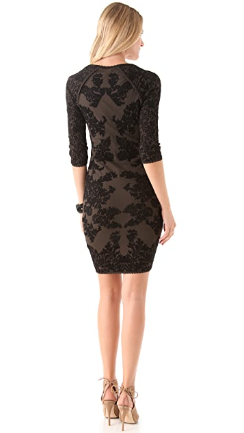 Zac Posen Intarsia Dress