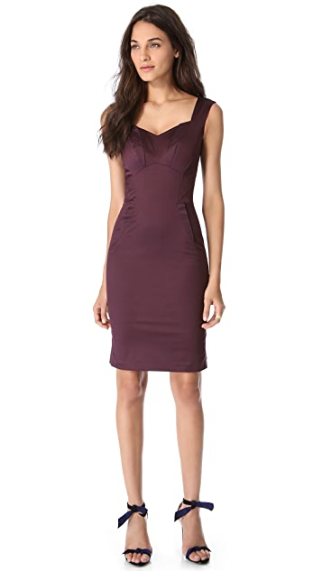 Zac Posen Sleeveless Cocktail Dress