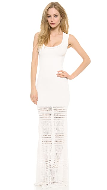 Zac Posen Knit Sleeveless Dress