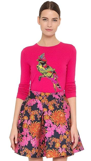 Zac Posen Parrot Sweater