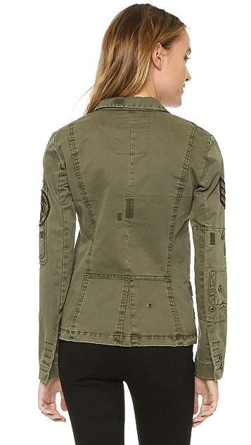 Zadig & Voltaire Virginia Grunge Army Jacket
