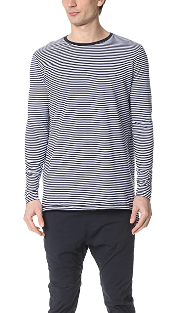 Zanerobe Stripe Flintlock Long Sleeve Tee