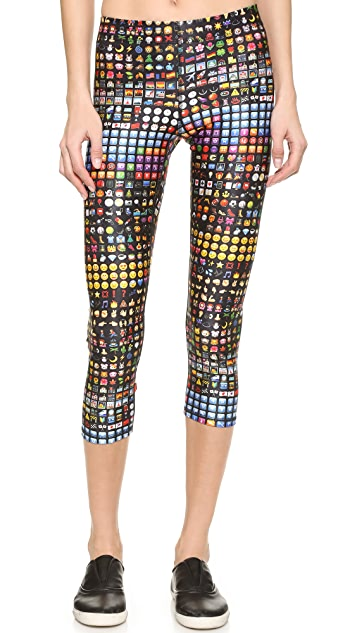 Terez Conversation Performance Capris