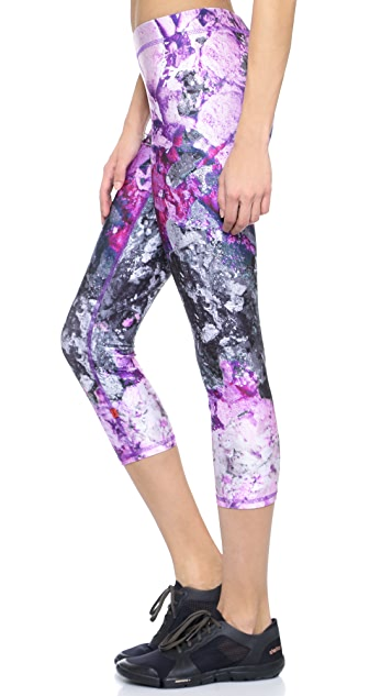 Terez Crushed Makeup Performance Capris