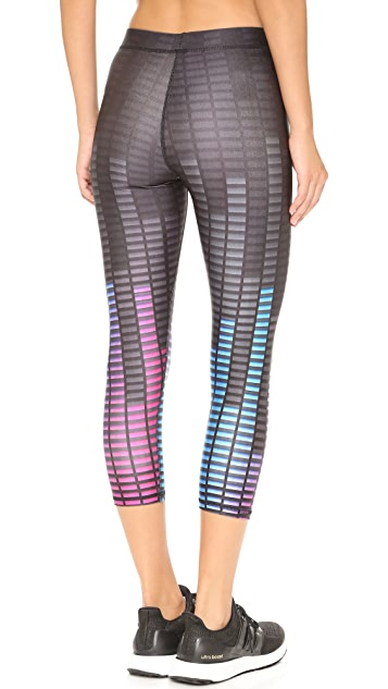 Terez Audio Levels Performance Capri Leggings