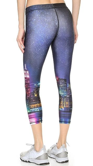Terez NYC Nights Capri Leggings