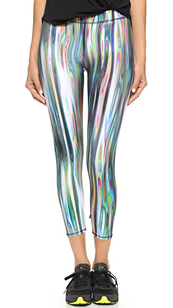 Terez Rainbow Metal Performance Leggings