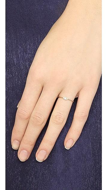 Zoe Chicco Small Eye Diamond Ring