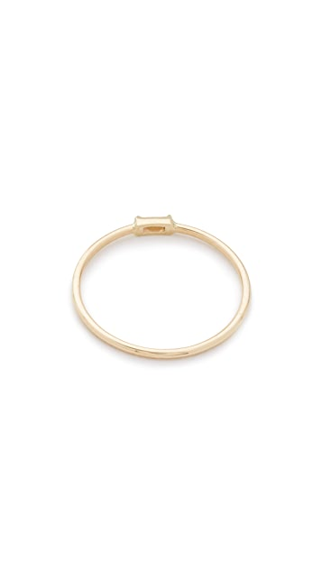 Zoe Chicco 14k Gold Horizontal Diamond Ring