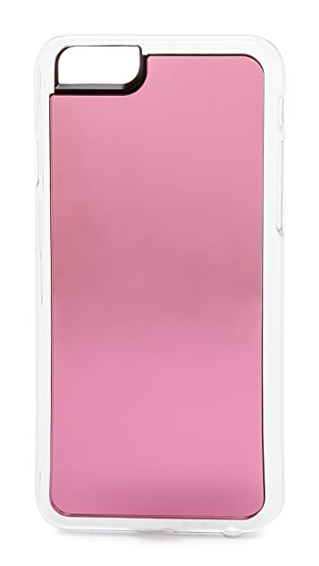 Zero Gravity Pink Mirror iPhone 6 Case