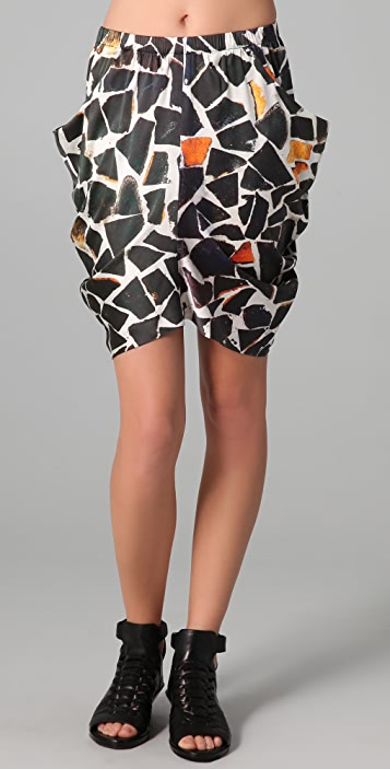 Zero + Maria Cornejo Ori Miniskirt