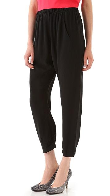 Zero + Maria Cornejo Slouchy Gaby Trousers