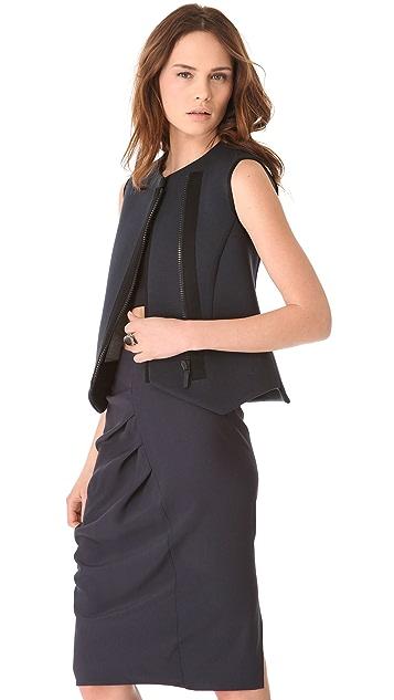 Zero + Maria Cornejo Neo Scuba Liri Waistcoat Vest