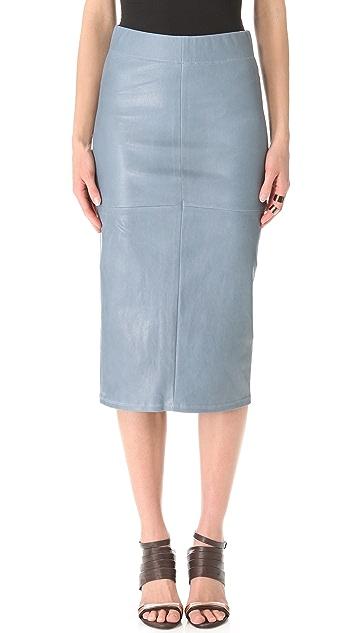 Zero + Maria Cornejo Long Spiral Skirt