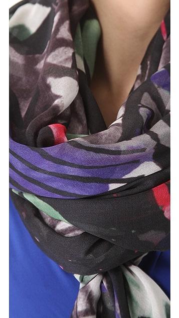 Zero + Maria Cornejo Wide Print Scarf