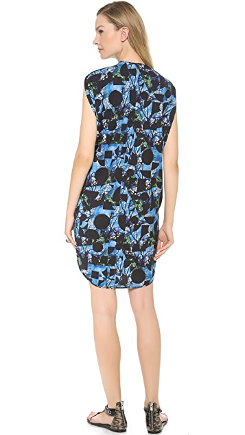 Zero + Maria Cornejo Geo Tree Print Ara Dress
