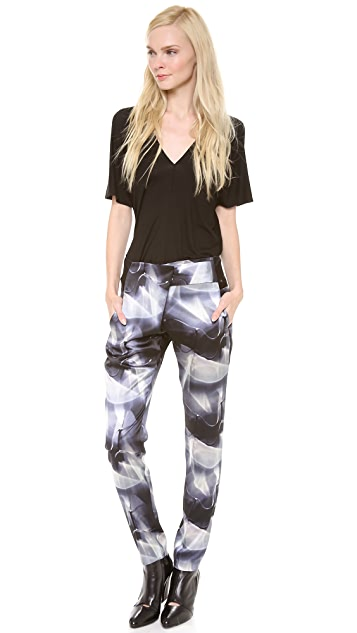 Zero + Maria Cornejo Kinetic Light Print Zani Pants