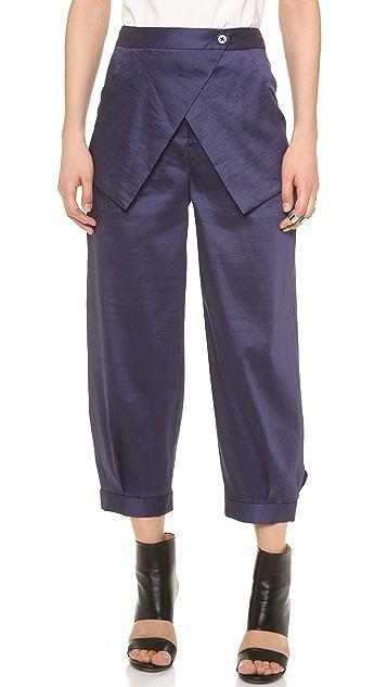 Zero + Maria Cornejo Cargo Pants
