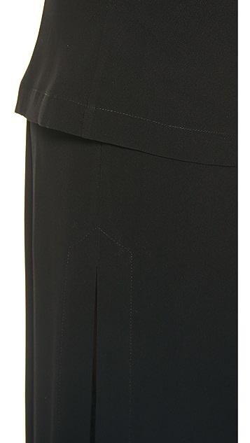 Zero + Maria Cornejo Long Dabi Skirt