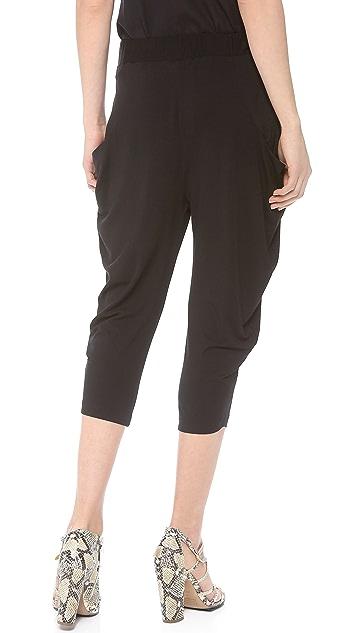 Zero + Maria Cornejo Crop Curve Ori Pants