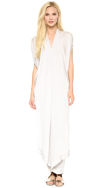 Zero + Maria Cornejo Drift Long Folio Dress