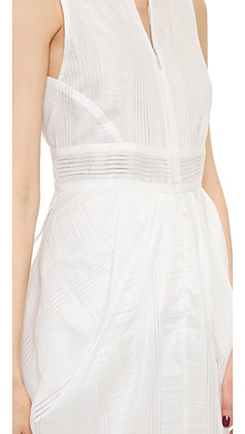 Zero + Maria Cornejo Lace Stripe Shreya Dress