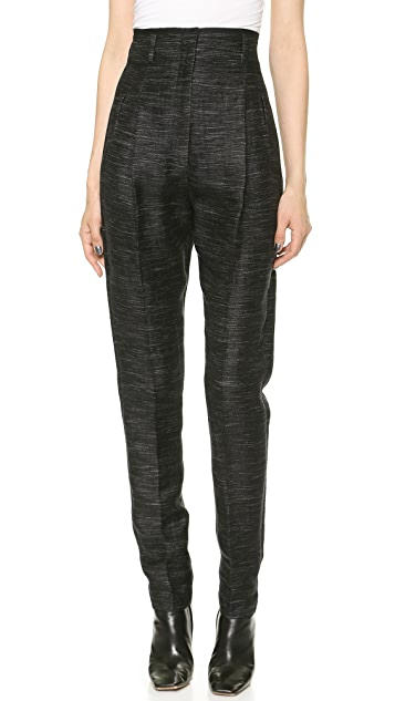 Zero + Maria Cornejo Light Tweed Drop Pants
